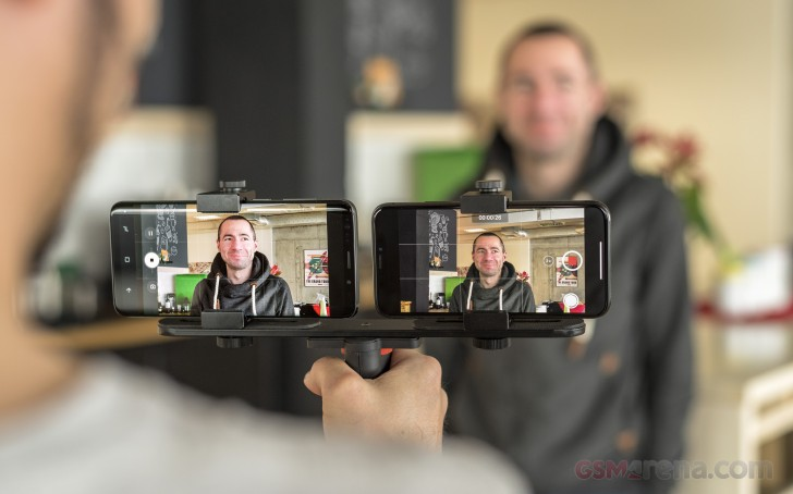 iPhone X vs  Galaxy S9+ shootout: Video quality, stabilization, slow-mo