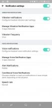 More notification settings - LG TONE Platinum SE review