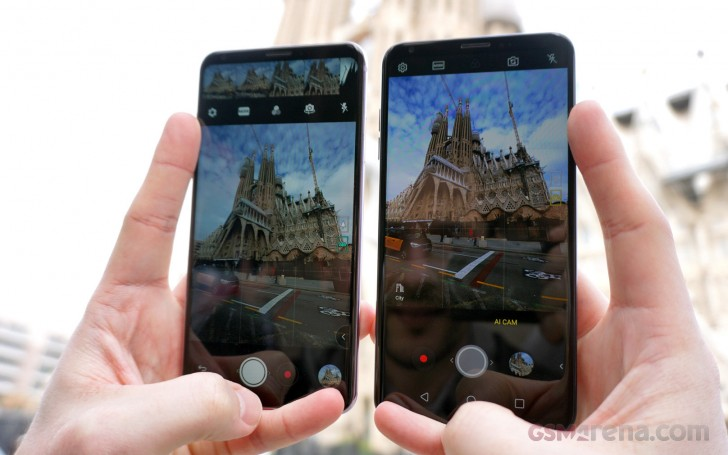 LG V30 vs LG V30S ThinQ camera comparison - GSMArena com tests