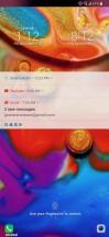 Lockscreen - LG V40 ThinQ review