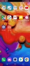Homescreen - LG V40 ThinQ review