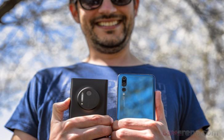 Lumia 1020 vs. Huawei P20 Pro blind shootout