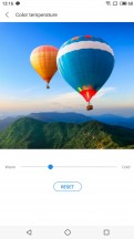 Best color temperature settings - Meizu 15 review