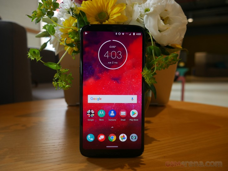 Motorola Moto Z3 hands-on review: Moto Z3 hands-on