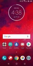 Standard Nav bar - Moto Z3 review