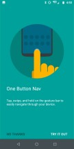 How to use One Button Nav - Moto Z3 review
