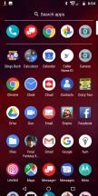 App drawer - Moto Z3 review