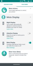Moto Display: features - Moto Z3 review