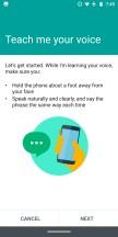 Moto Voice setup - Moto Z3 review