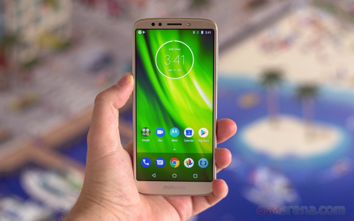 Motorola Moto G6 Play review: Lab tests - display, battery
