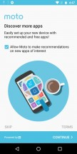 Moto initial setup - Motorola Moto G6 Play review