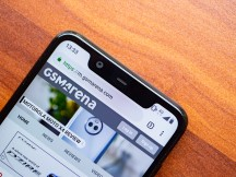 The notch - Nokia 5.1 Plus review