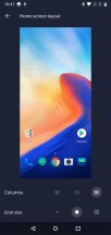 Icon columns/size - OnePlus 6 review