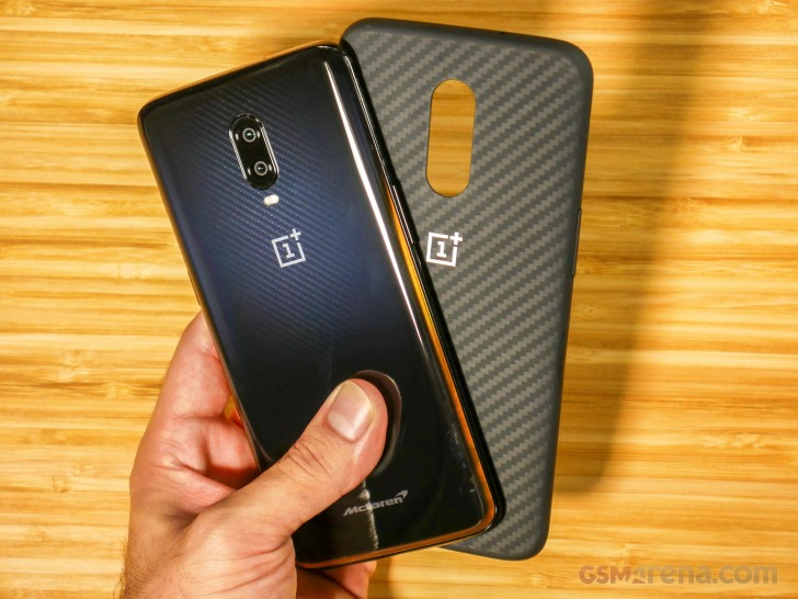 new product c798f eb300 OnePlus 6T McLaren Edition hands-on review - GSMArena.com tests