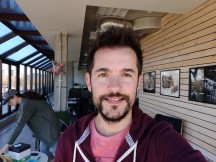 Selfie samples - f/2.0, ISO 160, 1/100s - Oneplus 6T review