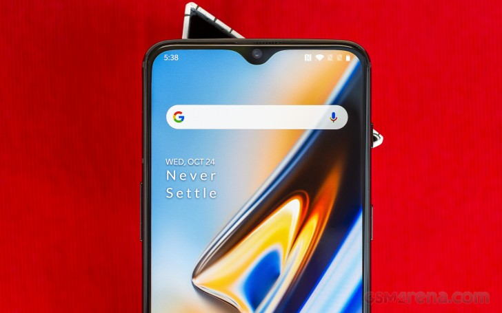 OnePlus 6T review: Lab tests - display and audio quality