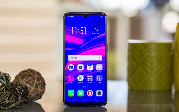 Oppo F9/F9 Pro review: Lab tests - display, battery, audio