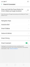Navigation settings - Oppo Realme 2 Pro review