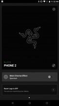 Razer Chroma logo control app - Razer Phone 2 review