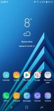 Homescreen - Samsung Galaxy A6 (2018) review
