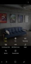 Camera interface - Samsung Galaxy A6 (2018) review