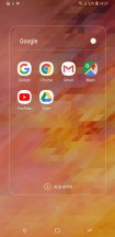 Folder view - Samsung Galaxy A6+ (2018) review