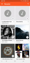 Google Play Music - Samsung Galaxy A6+ (2018) review