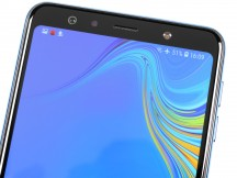 Top bezel things - Samsung Galaxy A7 (2018) review