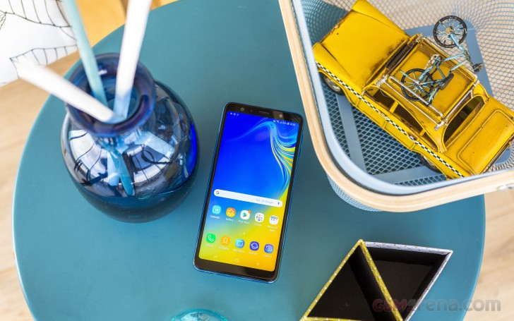 Samsung Galaxy A7 (2018) review: User interface, performance