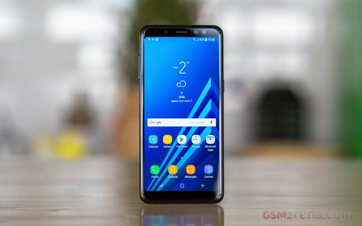 Samsung Galaxy A8 (2018) review - GSMArena com tests