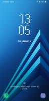 The lockscreen - Samsung Galaxy A8 (2018) review