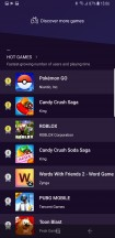 Game launcher - Samsung Galaxy Note9 review