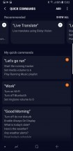 Bixby Voice: Commands examples - Samsung Galaxy Note9 review