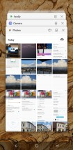 Multitasking menu - Samsung Galaxy S9 Plus long-term review