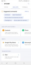 Bixby Voice commands examples - Samsung Galaxy S9+ review