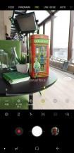 Camera interface - Samsung Galaxy S9+ review