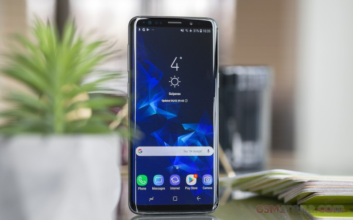 Samsung Galaxy S9 review: Lab tests - display, battery life