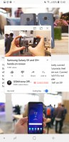 Pop-up view - Samsung Galaxy S9 review