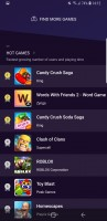 Game launcher - Samsung Galaxy S9 review