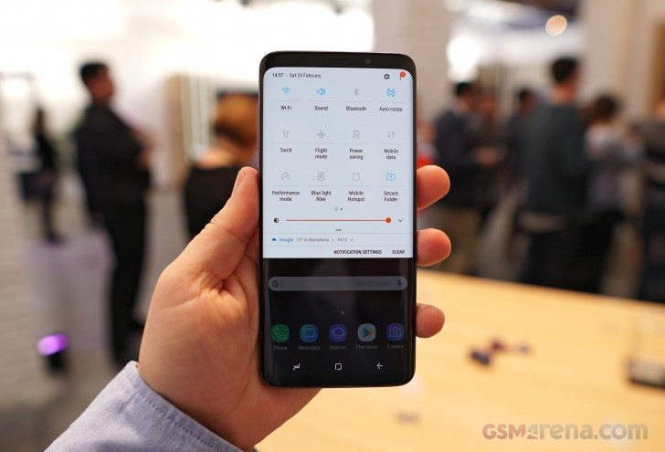 Samsung Galaxy S9 and S9+ hands-on review: Software, chipset