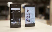Xperia XA2 and XA1 side by side - Sony Xperia XA2, XA2 Ultra, L2 hands-on review
