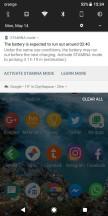 Stamina Mode notification - Sony Xperia XZ2 long-term review