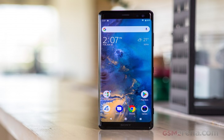 Sony Xperia XZ3 hands-on review: Display, camera