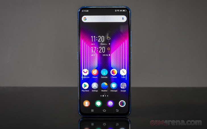 vivo NEX Dual Display review: Lab tests - display, battery