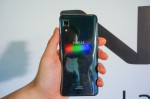 Tiny triangles reflect light in the three primary colors - Red, Green and Blue - vivo NEX S and NEX A hands-on review