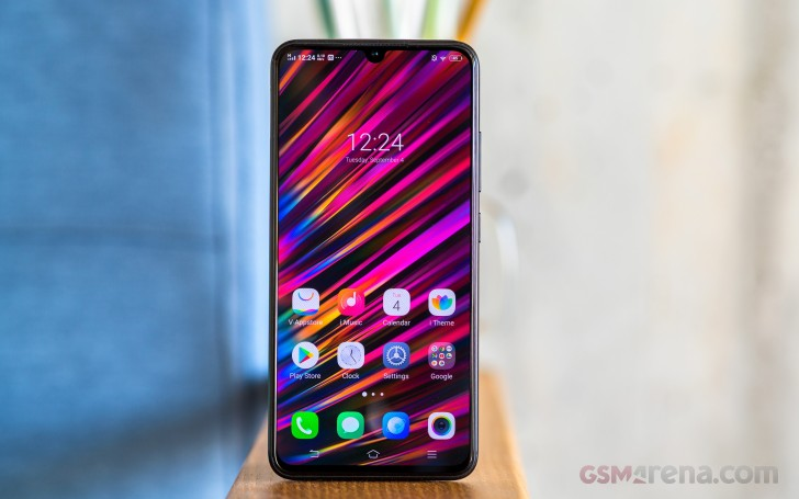 vivo V11 review: Lab tests - display, battery, audio