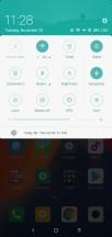 Notification shade - Xiaomi Mi 8 Lite review