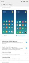 Full screen menu - Xiaomi Mi 8 Lite review