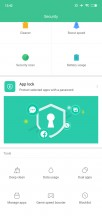 Security app - Xiaomi Mi 8 Lite review
