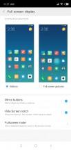 Fullscreen and navigation options - Xiaomi Mi 8 SE review